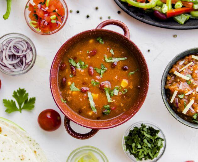 meksikāņu zupa