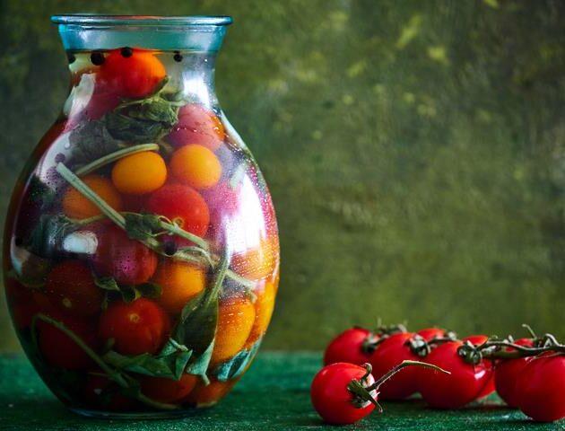 sālīti tomāti