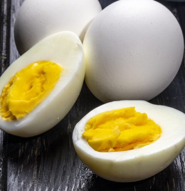 vārītas olas