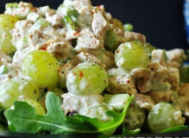 vīnogu salāti