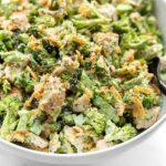 vistas un brokoļu salāti